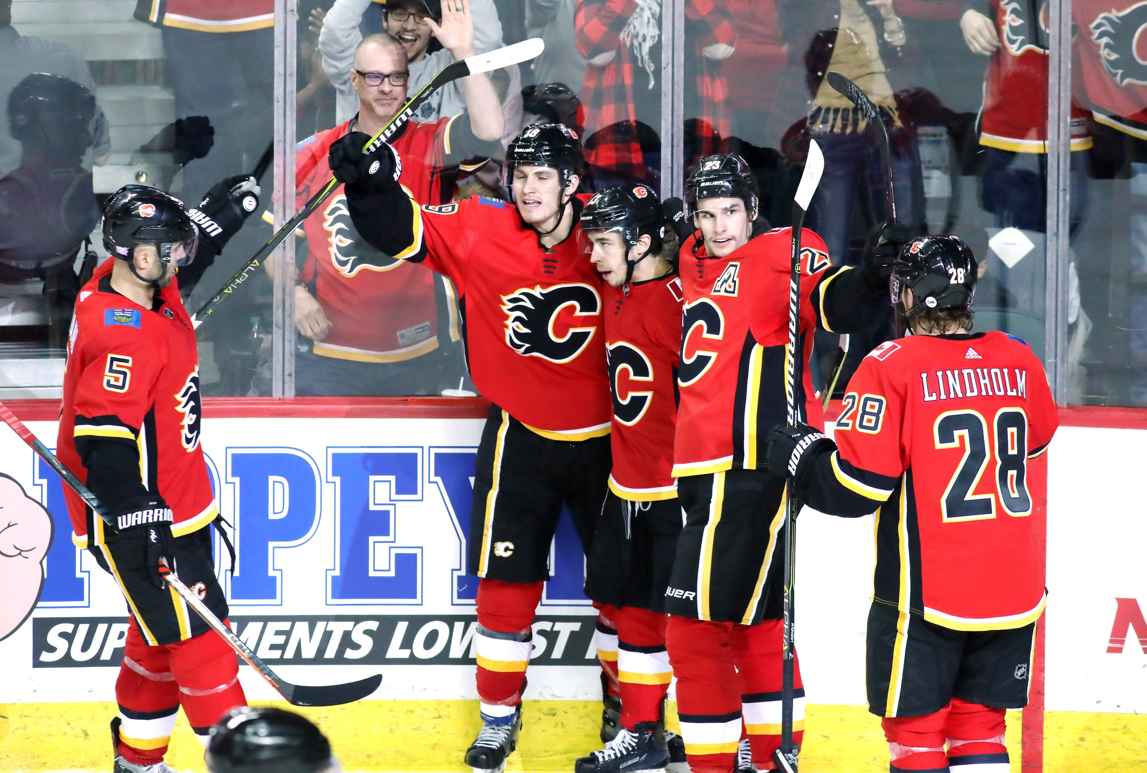 The Flames Are Probably Playoff Bound Now What Flamesnation