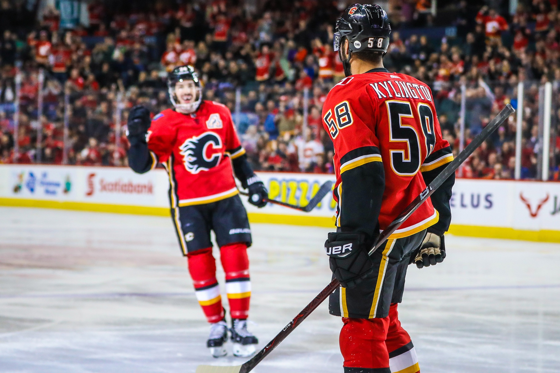 38823955dfa Quips and Quotes  Flames beat Hurricanes 3-2 (in overtime ...