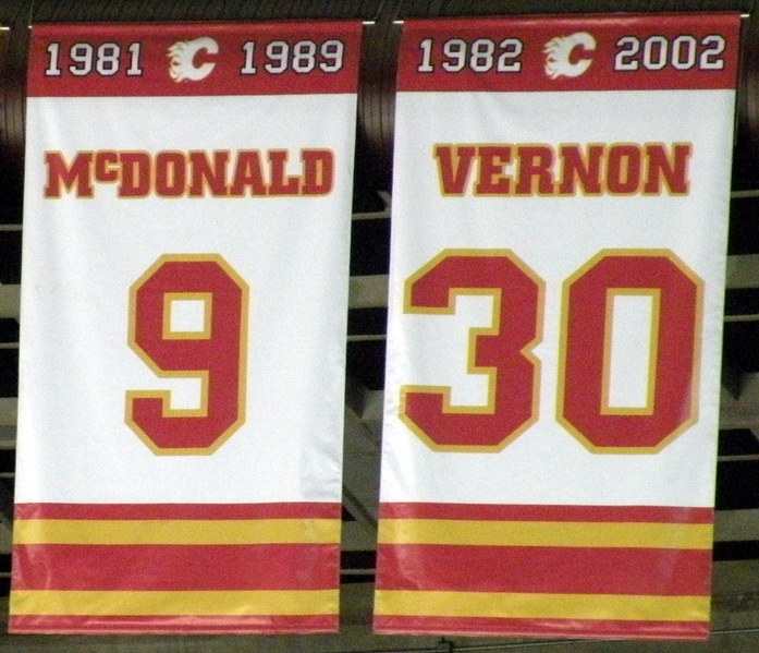 Flames banners
