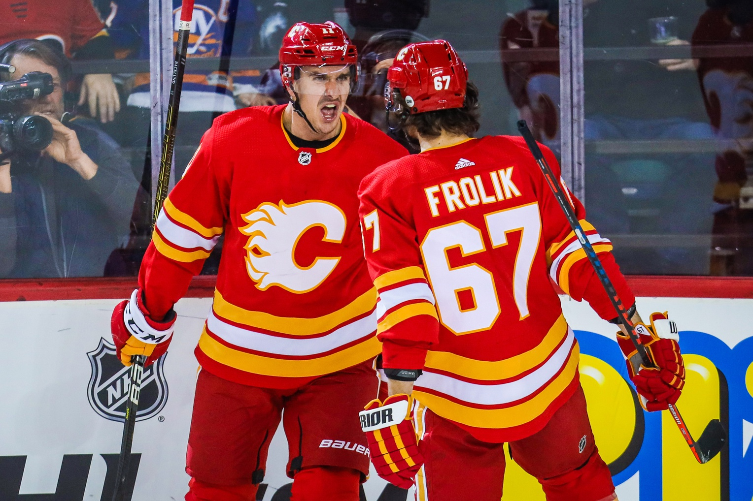 d1e0db37d6f Flames will wear retro home jerseys in the playoffs – Flamesnation