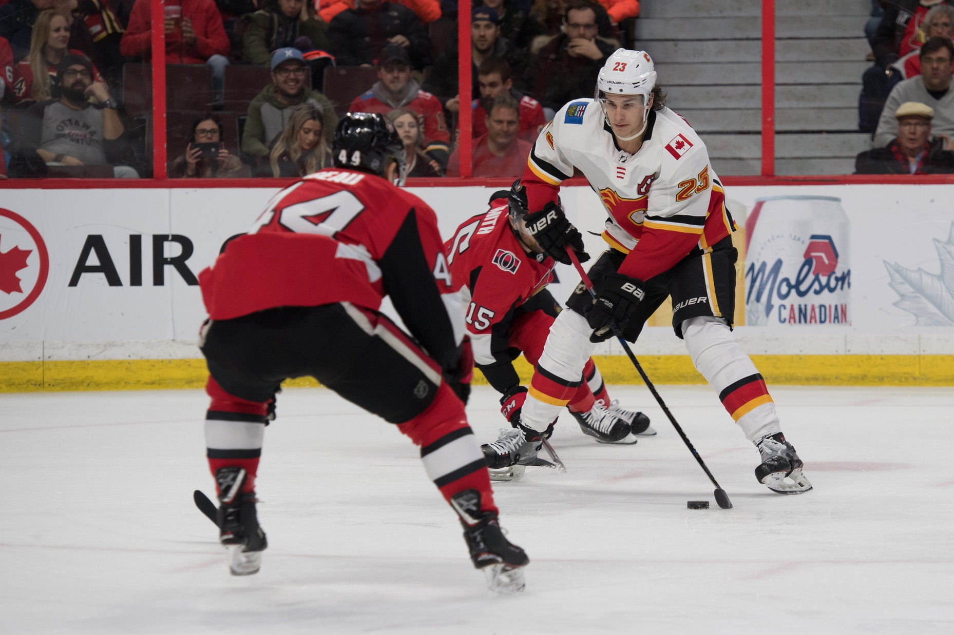 81bd6ee8e6b Post-Game  Flames eke out win over Senators – Flamesnation