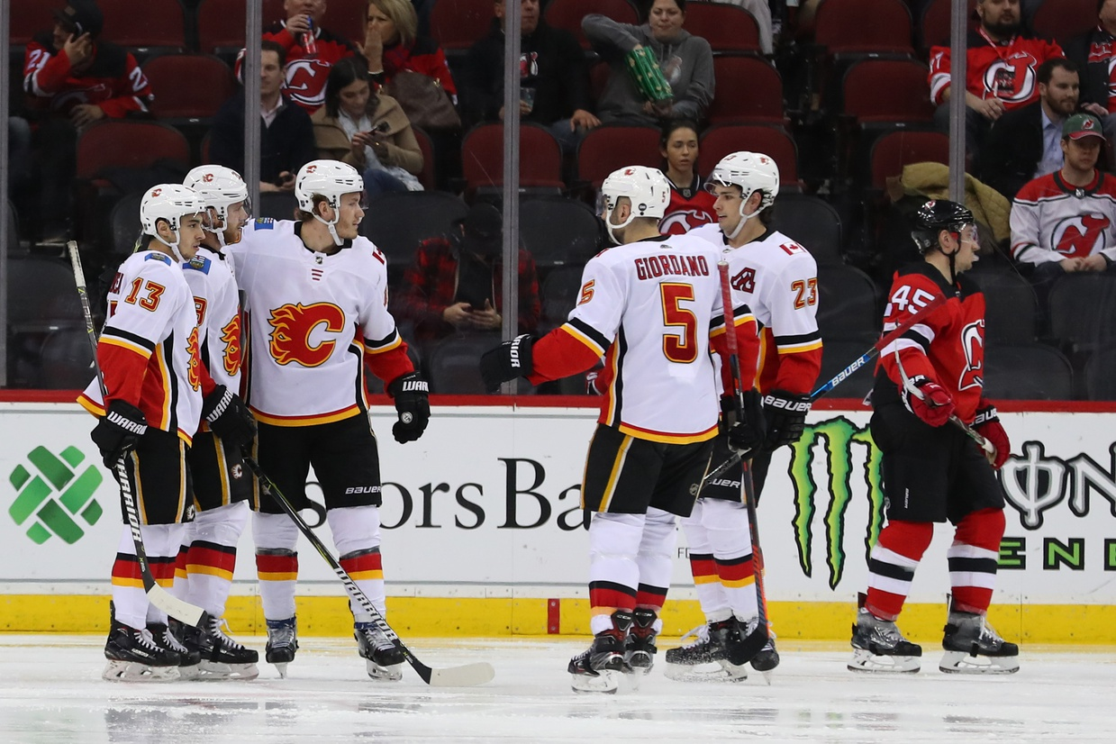 Post-Game  Flames ease past Devils. February 27 ... 3cbadccf3