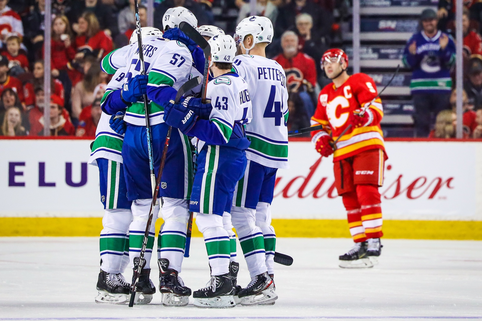 Post Game Wrap Up Flames Doused By Canucks Flamesnation