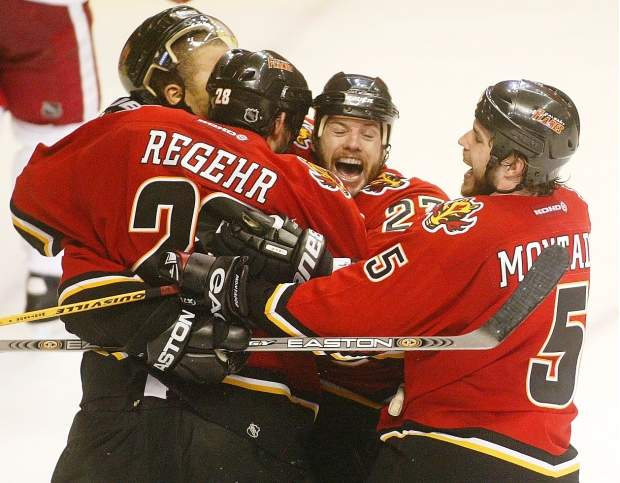 A Brief History Of Flames Series Clinching Goals Flamesnation